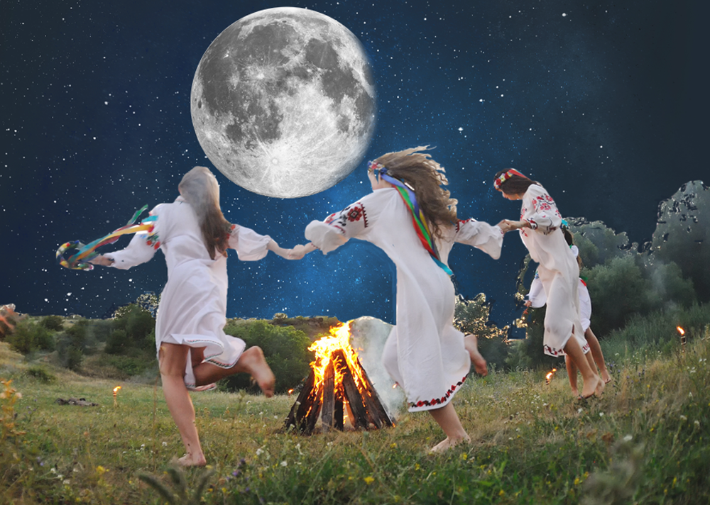 girls dancing with the moon 2